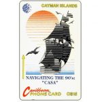The Phonecard Shop: Cayman Islands, 'Casa' Ship, 8CCIE, CI$15