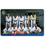 The Phonecard Shop: Cayman Islands, Taekwondo Team 94, 9CCIA, CI$10