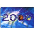 The Phonecard Shop: Millennium 2000, CI$10