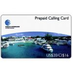 The Phonecard Shop: Cayman Islands, Georgetown Harbour, US$20/CI$16