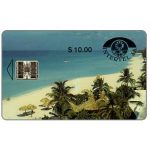 The Phonecard Shop: First issue, Intertel, Playa de Varadero, $10