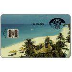 The Phonecard Shop: Cuba, First issue, Intertel, Playa de Varadero, $10
