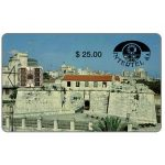 The Phonecard Shop: Cuba, First issue, Intertel, Castillo de la Real Fuerza, $25