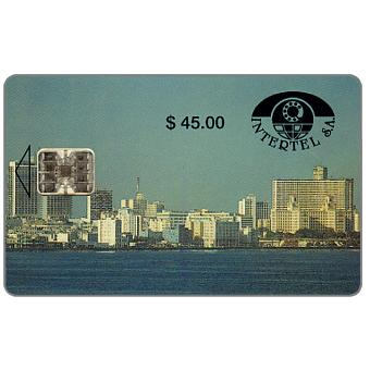 Phonecard for sale: First issue, Intertel, La Habana, $45