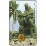 The Phonecard Shop: Etecsa, Sculpture of F.B. De Las Casas, $10