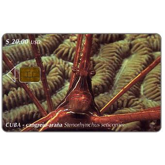 Phonecard for sale: Etecsa, Cangrejo-arana, $ 20