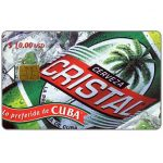 The Phonecard Shop: Etecsa, Cristal Beer, $ 10