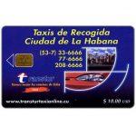 The Phonecard Shop: Cuba, Etecsa, Transtur, Taxis de Recogida, $ 10