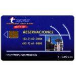 The Phonecard Shop: Cuba, Etecsa, Transtur, Reservaciones, $ 10