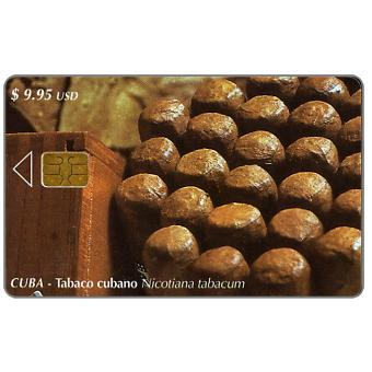 Phonecard for sale: Etecsa, Tabaco cubano, $ 9.95