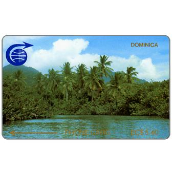 Phonecard for sale: Indian River & Palms, 2CDMA, EC$5.40