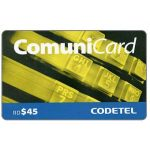 The Phonecard Shop: Codetel ComuniCard - Keypad, yellow, RD$45