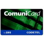 The Phonecard Shop: Codetel ComuniCard - Keypad, green, RD$95