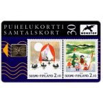 The Phonecard Shop: Tele - Moomins stamps, 30 mk