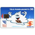 Phonecard for sale: Tele - Helsinki '94, blue, 30 mk