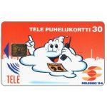 The Phonecard Shop: Finland, Tele - Helsinki '94, red, 30 mk