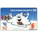 The Phonecard Shop: Tele - Helsinki '94, blue, 2nd issue, 30 mk