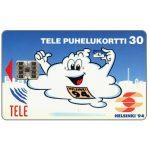 The Phonecard Shop: Finland, Tele - Helsinki '94, blue, 2nd issue, 30 mk