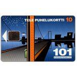 The Phonecard Shop: Finland, Tele - 101 Trunk calls, 10 mk