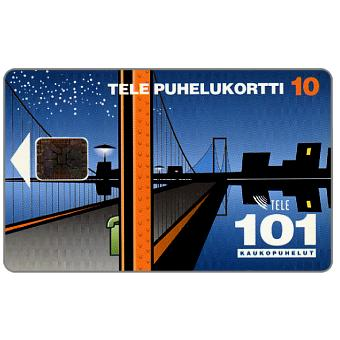 Phonecard for sale: Tele - 101 Trunk calls, 10 mk