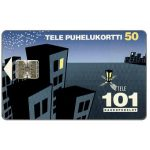 Phonecard for sale: Tele - 101 Trunk calls, 50 mk