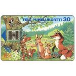 Phonecard for sale: Tele - Summer animals, 30 mk