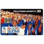 The Phonecard Shop: Tele - Nuori Suomi, 30 mk