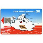 The Phonecard Shop: Tele - Helsinki '94, red, 30 mk