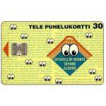 The Phonecard Shop: Finland, Tele - Eyes, 30 mk
