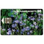 The Phonecard Shop: Tele - Spreading Bellflowers, 30 mk