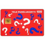 The Phonecard Shop: Finland, Tele - Questions, 100 mk