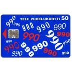 The Phonecard Shop: Finland, Tele - 990, 50 mk