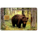 The Phonecard Shop: Finland, Tele - Bear in the wood, 50 units
