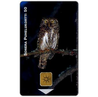 Phonecard for sale: Sonera - Owl, 50 units
