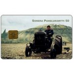 The Phonecard Shop: Sonera - Old tractor, 50 mk