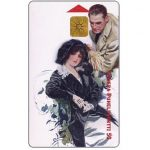 Phonecard for sale: Sonera - Man & woman, vintage image, 50 mk