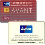 The Phonecard Shop: Finland, Avant - Toimirahakortti, 10.93, 50 mk