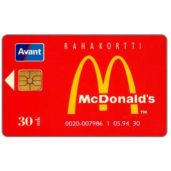 Phonecard for sale: Avant - McDonald's, 30 mk