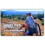 The Phonecard Shop: Finland, HPY - Girl & bicycle, 30 mk