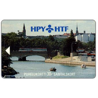 Phonecard for sale: HPY - Bridge Pitkasilta, 2HTCA, 30 mk
