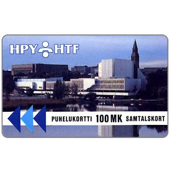 Phonecard for sale: HPY - Finlandia Hall, 3HTCC, 100 mk