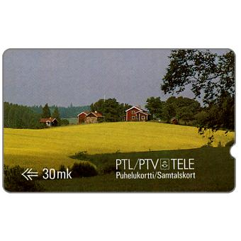 Tele - First GPT series, Scene from Nummela, deep notch, 1FINB, 30 mk