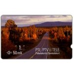 The Phonecard Shop: Tele - First GPT series, Scene from Finnish Lappland, deep notch, 1FINC, 50 mk