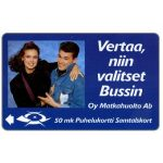 The Phonecard Shop: Finland, Tele - Oy Matkahuolto Ab, 2FINA, 50 mk
