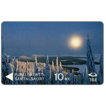 The Phonecard Shop: Tele - Winter view from Koli, 3FINA, 10 mk