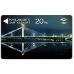 The Phonecard Shop: Tele - The bridge at Rovaniemi, 3FINB, 20 mk