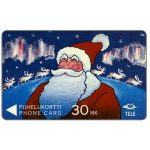 The Phonecard Shop: Tele - Santa Claus, 3FINC, 30 mk