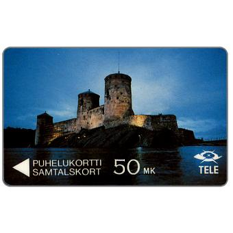 Tele - The Castle Olavinlinna, 5FINA, 50 mk