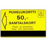 The Phonecard Shop: Finland, Tele - Trial card, 50 units