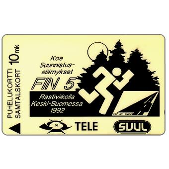 Phonecard for sale: Tele - SVUL: Nuori Suomi, 20FINA, 10mk